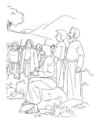 Bible Story Coloring Pages Printable Coloringstar