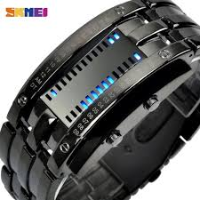 <b>SKMEI Fashion Creative Sport</b> Watch Men LED Display Watches ...