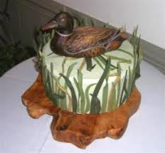 Hunting Themed Grooms Cakes Lovetoknow