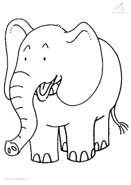 Small Picture Baby Elephant Coloring Pages Beautiful Free Printable Cute Baby