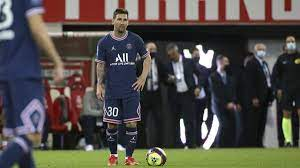 Lionel Messi plays for PSG and it's ...