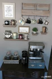 Do you own more coffee mugs than you should? How To Create A Diy Coffee Station At Home Making Manzanita
