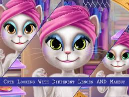 cat makeover spa and dress up screenshot 8