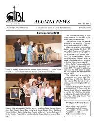 ALUMNI NEWS - Oneida Baptist Institute