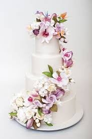Stunning Sugar Flowers And Colorful Butterflies Are Fabulous Against