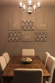 wall art idea for dining room material covered canvas some covered with burlap with words inscribed on them  on dining room wall art ideas with 20 magical wall art inspiration and ideas for your home pinterest