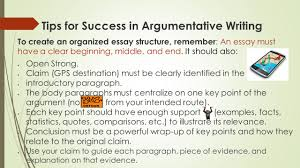 unpacking the prompt iuml acute this means breaking the prompt into chunks 4 tips for success in argumentative writing to create an organized essay structure