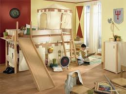 Of Kids Bedroom Cool Bunk Beds With Slides Kid Bedroom Bunk Bed Slide Pic Ideas