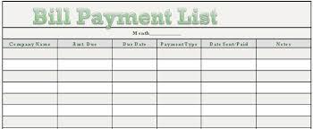 Rhiana Reports Free Downloadable Bill Payment Tracker Nurul Amal
