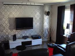 Basement Living Room Wallpaper Ideas