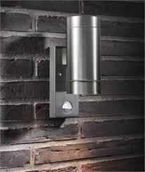 modern outdoor sensor wall lights. exterior up \u0026 down wall light with pir modern outdoor sensor lights i