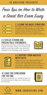 Bar Exam Essays Four Tips On How To Write A Great Bar Exam Essay Jd Advising