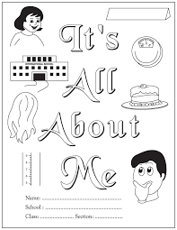 Small Picture It is all about me An activity book for beginning readers