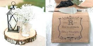 Glass Jar Table Decorations Burlap Table Decorations For Weddings Rustic Burlap Wedding 27