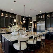 enchanting vintage kitchen ideas with white granite countertops for large kitchen island aside ceiling to floor dark kitchen cabinets set interior ideas
