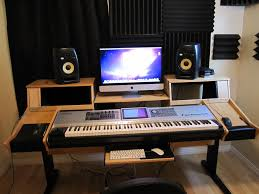 home studio desk design best of uncategorized home recording studio desk plan cool inside