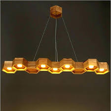 wooden hanging lamp wooden hanging lamp vintage wood industrial pendent kinds large honeycomb led pendant light