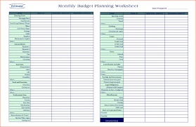 financial planner template spreadsheet template financial planning budget worksheet and