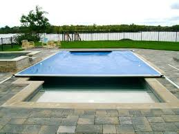 retractable pool cover. Motorized Pool Cover Automatic Covers Premier Spa Roller . Residential Retractable