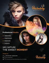 Professional Custom Design Photography Flyer Template
