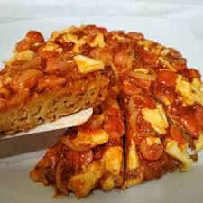 Resep Pizza Indomie Jajan Bakso