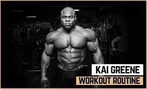 Bodybuilding Daily Routine Chart Kai Greenes Workout Routine Diet Updated 2019 Jacked