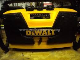 dewalt radio battery. dw911 worksite radio and battery charger; dewalt industrial (id \u003d 1184813) i