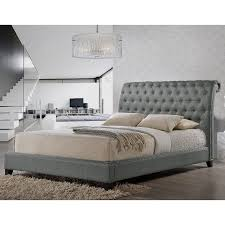 Our Jazmin Designer Bed shines with fabulous features: a scroll back  queen-sized headboard