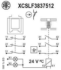 preventa xcs xcslf3837512 wiring diagram