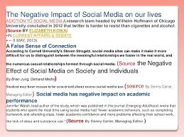 essay on media and its impact on so essay on media and its impact on society