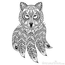 Wolf Adult Coloring Page Another Coloring Website
