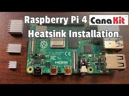 Heatsink Comparison Chart How To Install Heatsinks On The Raspberry Pi 4 Canakit