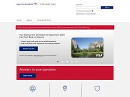 Nevada unemployment benefits are loaded onto debit cards issued by bank of america. Bank Of America Edd Card Login Credit One