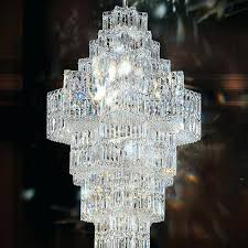 swarovski crystal chandelier blue earrings