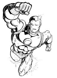 Small Picture Superhero Coloring Pages Coloring Pages Kids
