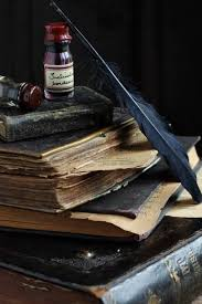 old books quill ink this makes me want to write