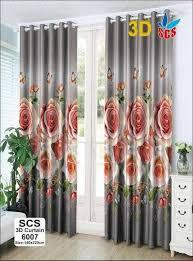3d curtain us cotton