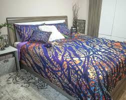watercolor bedding set animal print vibrant colors duvet cover set modern grunge pattern watercolor bedding sets