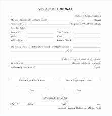 Vehicle Bill Of Sell Vehicle Bill Of Sale Template New Motor Vehicle Elegant Used Car