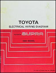 1989 toyota supra wiring diagram manual original