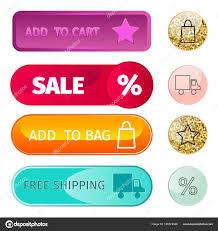 Free Online Navigation Charts Web Elements Shop Buttons Buy Element Cart Business Banner