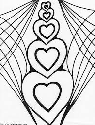 Heart With Wings Coloring Pages Getcoloringpagescom