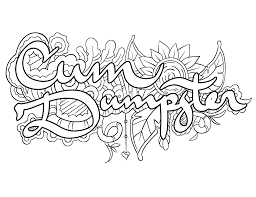 Cum Dumpster Coloring Page By Colorful