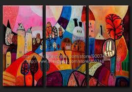Peinture Contemporaine Tableau Moderne Contemporain Happy Oil ...