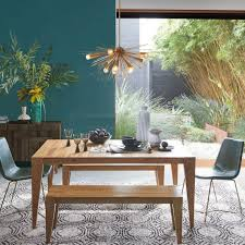 dining room sets uk. anderson solid wood expandable dining table - raw acacia room sets uk