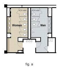 Ada Compliant Bathroom Layout Public Restroom Layout