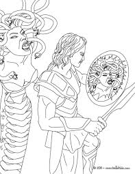 Small Picture Myth of perseus and medusa coloring pages Hellokidscom