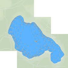 Snipe Lake Depth Chart Smoke Lake Fishing Map Ca_ab_smoke_lake Nautical