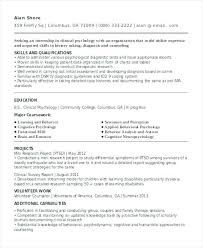 Sample Undergraduate Resume Undergraduate Cv Template Metabots Co