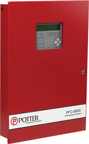 product groups potter electric signal company, llc addressable fire alarm system pdf at Potter Fire Alarm Wiring Diagram